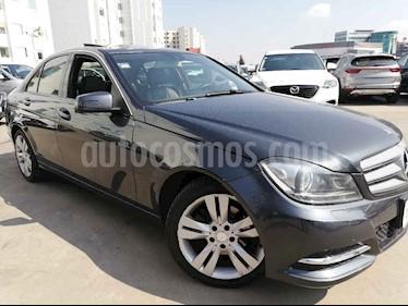 Mercedes Benz Clase C 200 CGI Exclusive Plus Aut usado (2014) color Gris precio $245,000