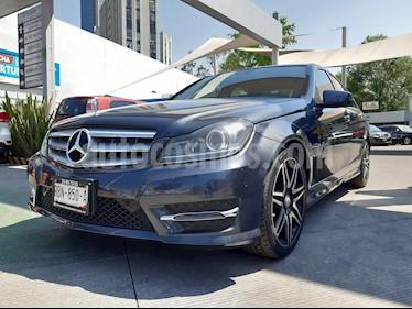 Mercedes Benz Clase C 200 CGI Sport Plus Aut usado (2014) color Gris precio $260,000