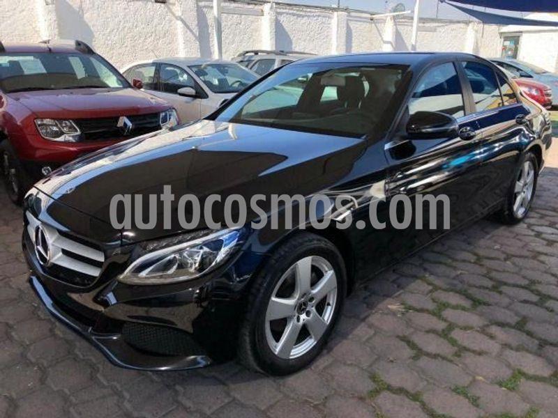 Mercedes Benz Clase C 180 Aut usado (2018) color Negro precio $350,000