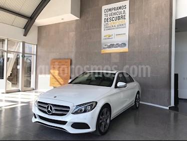 Mercedes Benz Clase C 200 Sport Aut usado (2017) color Blanco precio $420,000