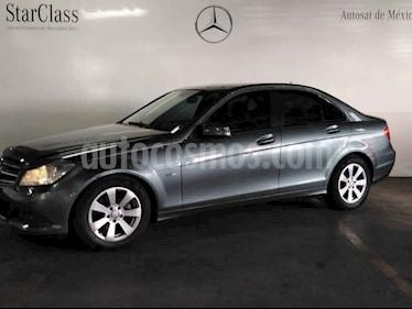 Mercedes Benz Clase C 4p C 180 CGI aut usado (2012) color Gris precio $189,000
