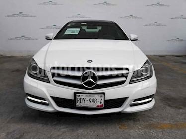 Mercedes Benz Clase C 2p C 250 Coupe L4/1.6/T Aut usado (2014) color Blanco precio $288,000