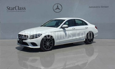 Mercedes Benz Clase C 200 Sport Aut usado (2020) color Blanco precio $689,900