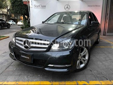 Mercedes Benz Clase C 200 CGI Exclusive Plus Aut usado (2014) color Gris precio $270,000