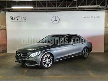 Mercedes Benz Clase C 4p C 200 Sport L4/2.0/T Aut usado (2017) color Gris precio $439,000