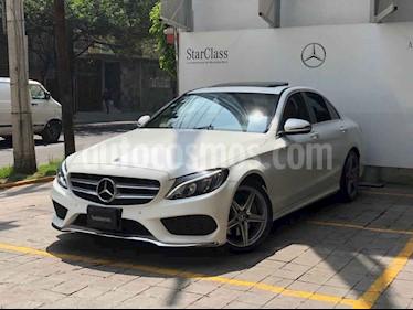 Mercedes Benz Clase C 4p C 250 CGI Sport usado (2018) color Blanco precio $575,000