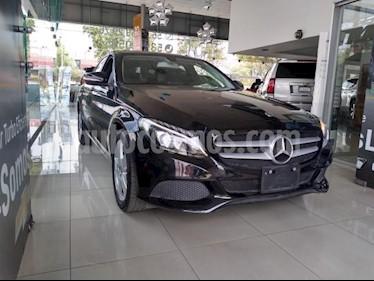 Mercedes Benz Clase C 4P C180 CGI TA 1.6T usado (2018) color Negro precio $350,000