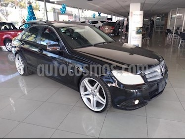 Mercedes Benz Clase C 4P C 200 EXCLUSIVE L4/1.8 AUT usado (2012) color Negro precio $169,000