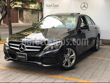 Mercedes Benz Clase C 4p C 200 Exclusive L4/2.0/T Aut usado (2018) color Negro precio $475,000