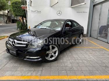 Mercedes Benz Clase C 180 Coupe Aut  usado (2013) color Negro precio $215,000