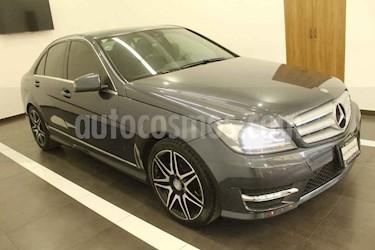 Mercedes Benz Clase C 4p C 200 Sport Plus  L4/1.8/T Aut usado (2014) color Gris precio $265,000