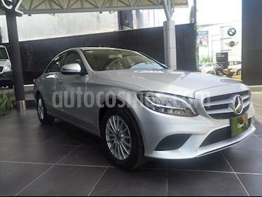 Mercedes Benz Clase C 200 Aut usado (2019) color Plata precio $580,000