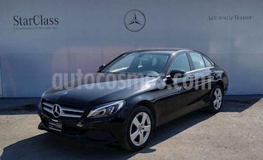 Mercedes Benz Clase C 180 Aut usado (2018) color Negro precio $399,900