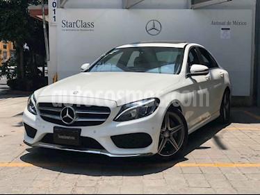 Mercedes Benz Clase C 4p C 250 Sport L4/2.0/T Aut usado (2017) color Blanco precio $455,000
