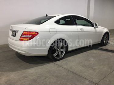 Mercedes Benz Clase C 180 Coupe Aut  usado (2014) color Blanco Calcita   precio $247,000