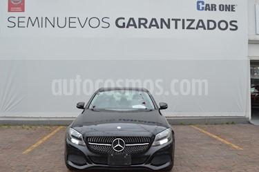 Mercedes Benz Clase C 200 CGI Coupe Aut usado (2016) color Negro precio $299,900