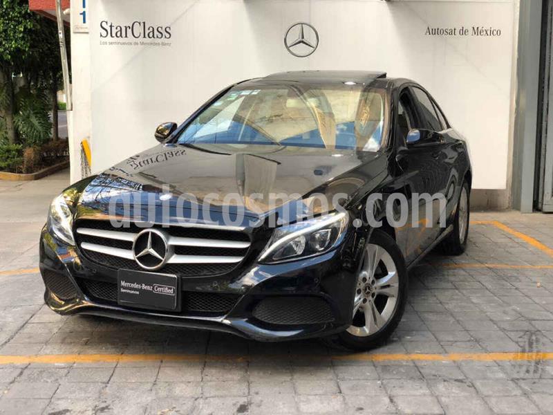 Mercedes Clase C 200 CGI Exclusive usado (2018) color Negro precio $440,000