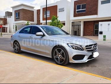 Mercedes Benz Clase C 250 CGI Sport Aut usado (2016) color Plata precio $389,000