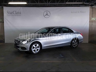 Mercedes Benz Clase C 4p C 180 L4/1.6/T Aut usado (2018) color Plata precio $429,000