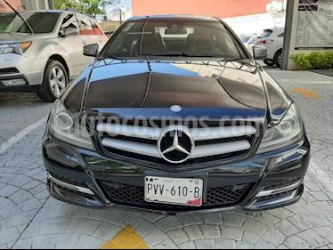 Mercedes Benz Clase C 2p C 250 CGI Coupe aut usado (2012) color Negro precio $210,000