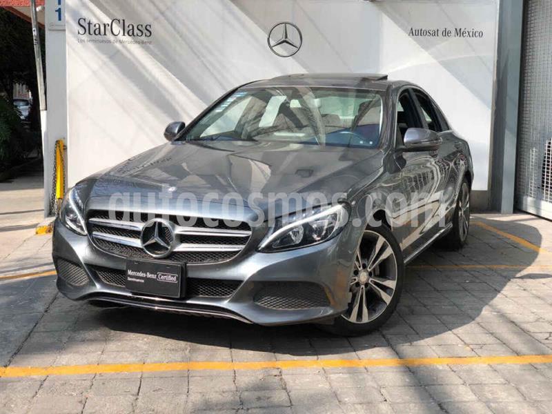 Mercedes Benz Clase C 200 CGI Sport Aut usado (2017) color Gris precio $420,000