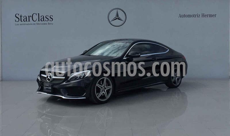 Mercedes Benz Clase C 250 CGI Coupe Aut usado (2018) color Negro precio $549,900