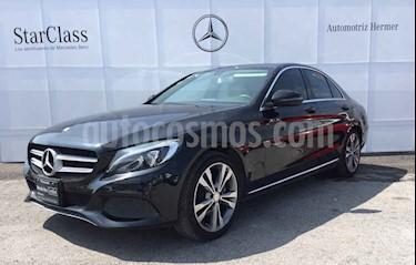Mercedes Benz Clase C 4p C 200 Sport L4/2.0/T Aut usado (2017) color Negro precio $399,900