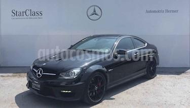 Mercedes Benz Clase C 2p C 63 AMG Coupe Ed 507 V8/6.3 Aut usado (2014) color Negro precio $649,900
