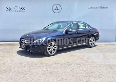 Mercedes Benz Clase C 4p C 200 Sport L4/2.0/T Aut usado (2018) color Azul precio $459,900