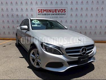 Mercedes Benz Clase C 200 CGI Exclusive usado (2018) color Plata Cubanita precio $394,000