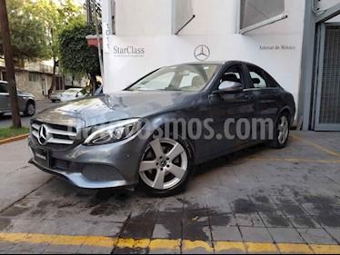 Foto Mercedes Benz Clase C 4p C 180 L4/1.6/T Aut usado (2018) color Gris precio $415,000