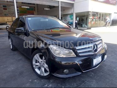 Mercedes Benz Clase C 4P C200 CGI EXCLUSIVE TA CD RA-17 usado (2012) color Negro precio $193,000