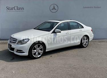Mercedes Benz Clase C 4p C 200 Exclusive Plus L4/1.8/T Aut usado (2014) color Blanco precio $249,900