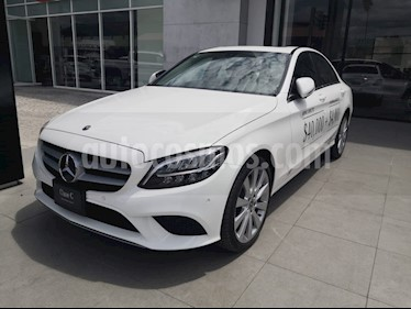 Mercedes Benz Clase C 200 Exclusive Aut usado (2019) color Blanco precio $659,000