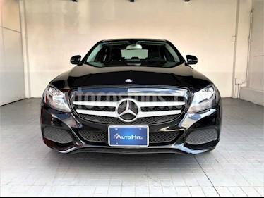 Mercedes Benz Clase C 4p C 180 L4/1.6/T Aut usado (2016) color Negro precio $317,000