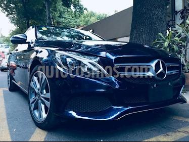 Mercedes Benz Clase C 200 CGI Sport Aut usado (2018) color Azul precio $450,000
