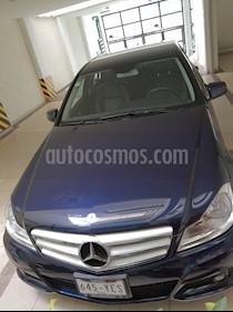Mercedes Benz Clase C 180 CGI Aut NAV usado (2012) color Azul precio $194,000