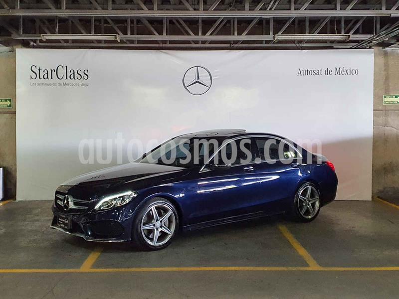 Mercedes Benz Clase C 250 CGI Sport Aut usado (2017) color Azul precio $479,000
