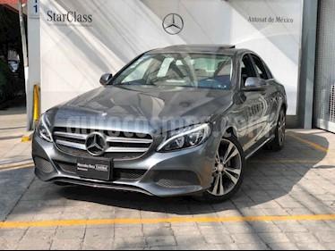 Mercedes Benz Clase C 200 Exclusive Aut usado (2017) color Gris precio $420,000