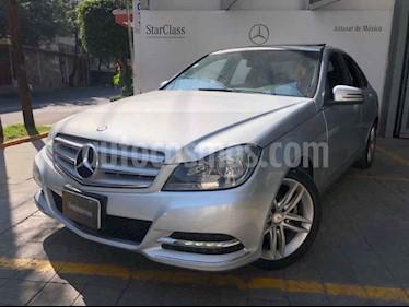 Mercedes Benz Clase C 200 CGI Exclusive Aut usado (2013) color Plata precio $240,000
