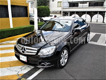 Mercedes Benz Clase C 200 CGI Sport Aut usado (2011) color Negro Obsidiana precio $169,900
