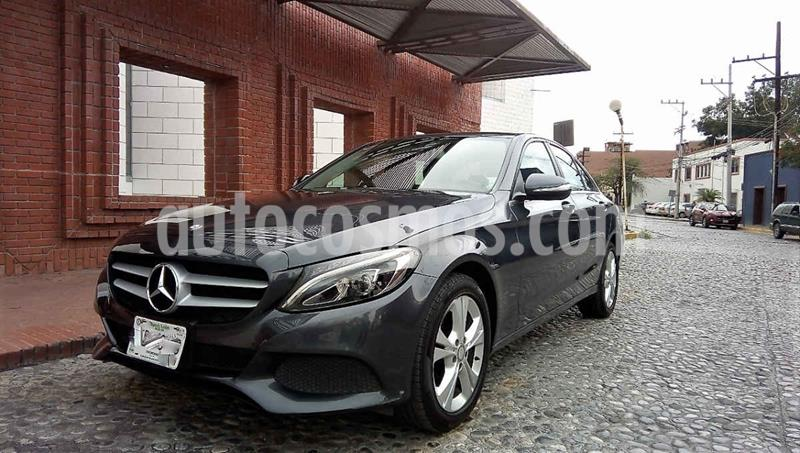 Mercedes Benz Clase C 200 Exclusive Aut usado (2016) color Negro precio $335,000