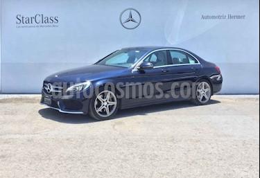 Mercedes Benz Clase C 4p C 250 Sport L4/2.0/T Aut usado (2017) color Azul precio $439,900