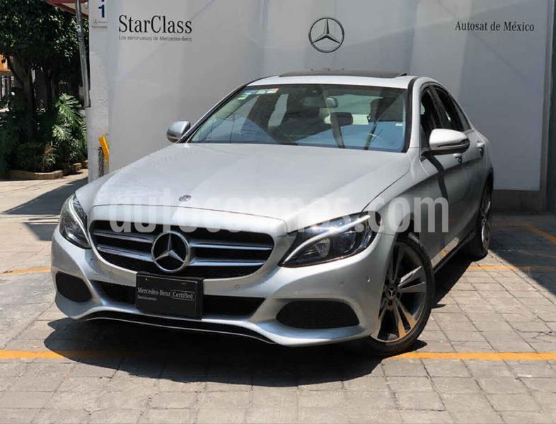 Mercedes Benz Clase C 200 CGI Exclusive Aut usado (2018) color Plata precio $450,000