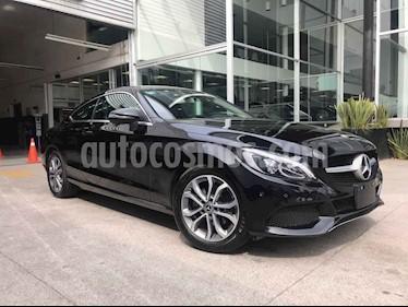 Mercedes Benz Clase C 180 Coupe Aut  usado (2018) color Negro precio $445,000