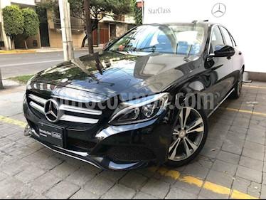Mercedes Benz Clase C 200 CGI Sport Aut usado (2017) color Negro precio $440,000