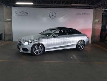 foto Mercedes Benz Clase C 2p C 300 Convertible L4/2.0/T Aut usado (2018) color Plata precio $800,000