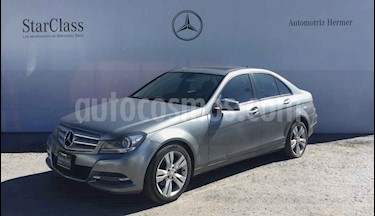 Mercedes Benz Clase C 200 CGI Exclusive Plus Aut usado (2014) color Gris precio $209,900
