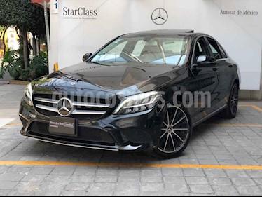 Mercedes Benz Clase C 4p C 200 Sport L4/1.5/T Aut usado (2019) color Negro precio $650,000