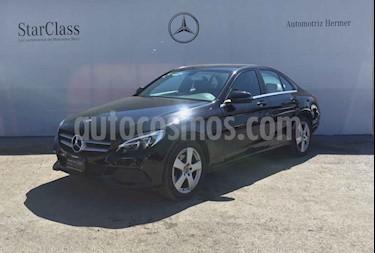 Mercedes Benz Clase C 4p C 180 L4/1.6/T Aut usado (2018) color Negro precio $419,900
